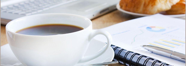 Kaffem&oslash;de - vi gi&acute;r<br>