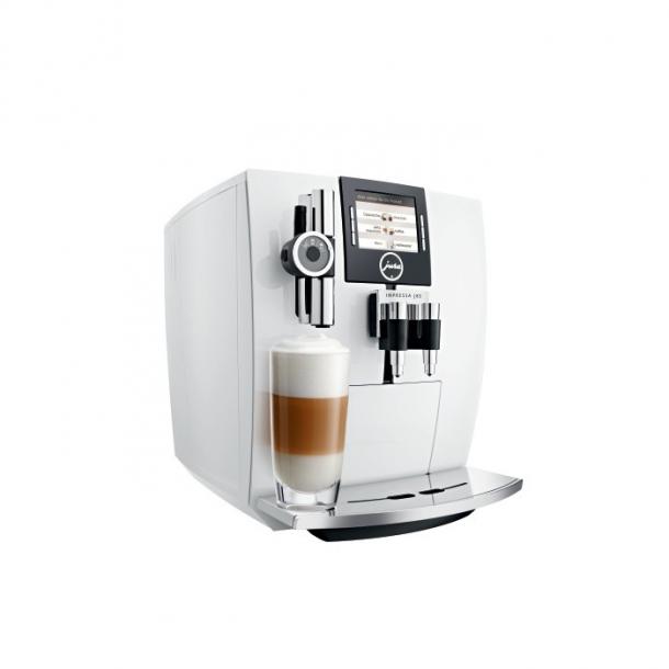 jura j85 piano white jura kaffemaskiner ens kaffe. Black Bedroom Furniture Sets. Home Design Ideas